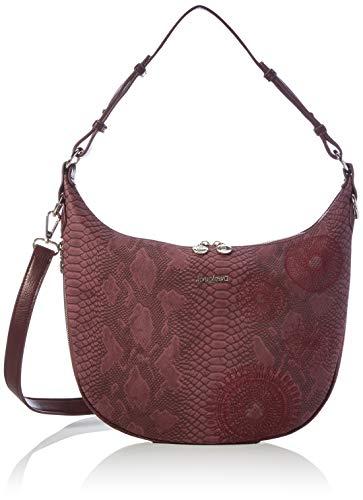Desigual Accessories PU Shoulder Bag, Bolso bandolera. para Mujer, rojo, U