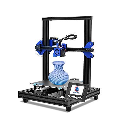 TRONXY Stampante 3D XY-2 PRO Dimensioni di stampa 255 x 255 x 260 mm con piastra rimovibile, funzione di stampa continua/dopo lo spegnimento/rilevamento filamento/livellamento automatico