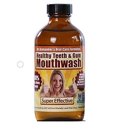 Gum Disease Help, Gum Recession Help - MOUTHWASH – 100% Pure & Healthy - Organic/nonGMO - Tooth Pain, Sensitivity, Bad Breath, Plaque, Lichen planus.