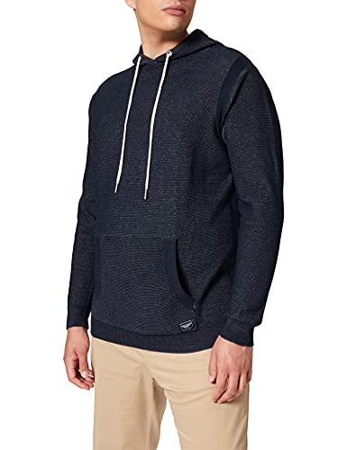 TOM TAILOR Men+ Herren 1026677 Plussize Hoodie Pullover, 10302-Dark Blue, 2XL
