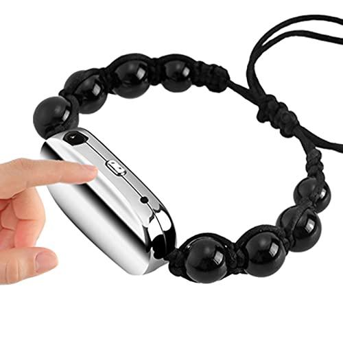 KCH Digitale Diktiergerät Tragbar Armbänder Aufnahmegerät One-Touch-Aufnahme Aufnahmestift Kleines Stimmenaktivierung Diktiergerät Zeitstempel Mini Spionage Audiorekorder (8GB)