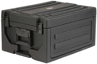 SKB Cases 1SKB19-RSF4U Roto-Molded 4U Studio Flyer Rack Case, Rack Space for Recording Gear, 21.5