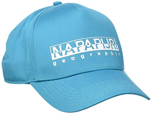 Napapijri Herren FRAMING 1 Baseball Cap, Türkis (Reef Turquoise I711), One Size (Herstellergröße: OS)