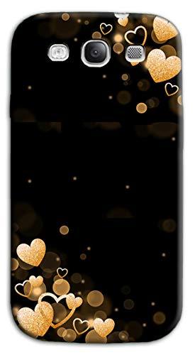Mixroom - Cover Custodia Case in TPU Silicone Morbida per Samsung Galaxy S3 Neo i9301 i9300 Fantasia Stelle Glitter N1042