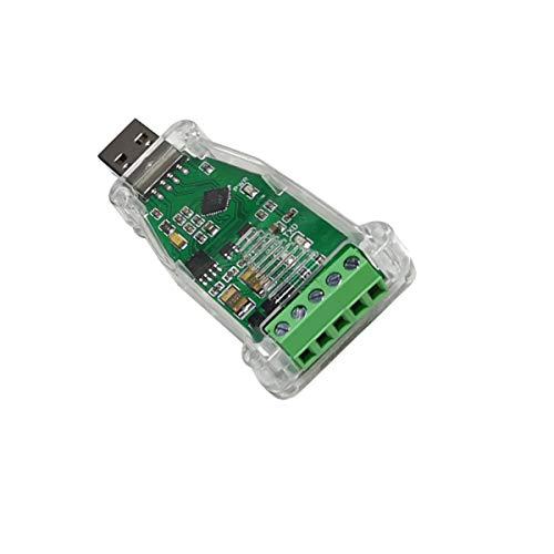DSD TECH USB 2.0 à RS485 Serial Data Converter Adaptateur CP2102 Compatible avec Windows 7,8,10, linux, Mac OS