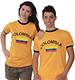 BRUBAKER T-Shirt Colombie - Collection Supporter - Orange - L