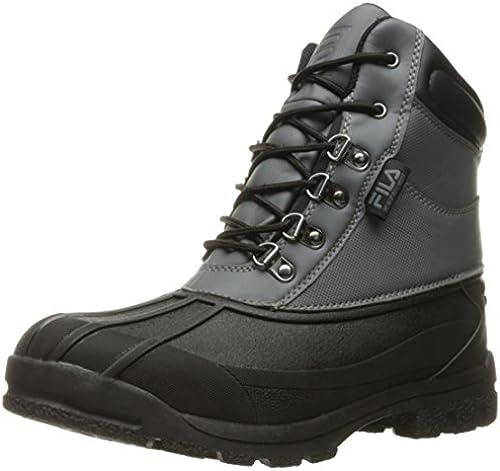 Fila Men& 039;s Weathertech Extreme Walking schuhe, Castlerock schwarz Dark Silber, 11 M US
