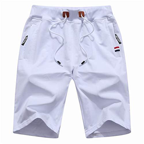 Pantalones Casuales De Cinco Puntos para Hombres De Verano Pantalones Cortos Deportivos para JóVenes Pantalones Cortos De Talla Grande para Hombres