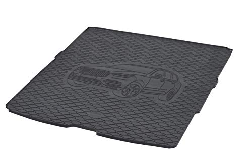 Rigum Boot Liner and Rubber Floor Mats Perfect Fit for Volvo XC90 2015 Onwards Extra Protective Cover