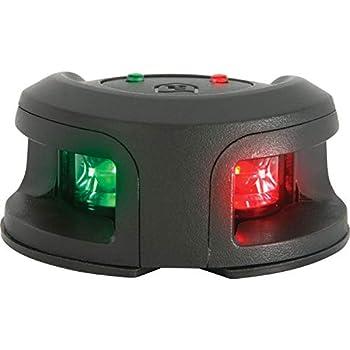 attwood NV2002PB-7 LED Navigation - Bi-Color Light Bow Mount Black
