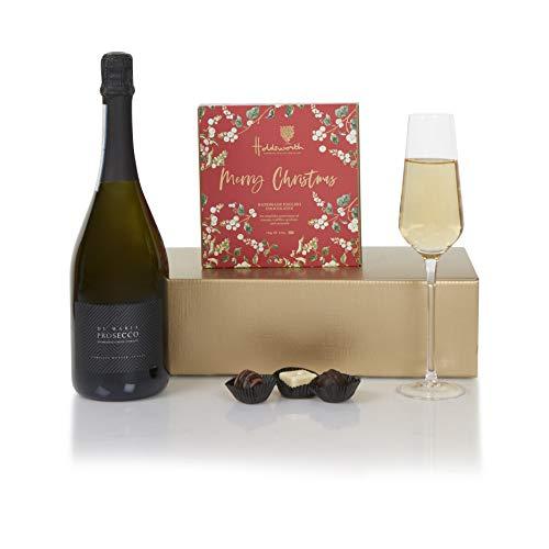 Prosecco & Christmas Chocolates Hamper - Christmas Hampers - Xmas Prosecco Gift