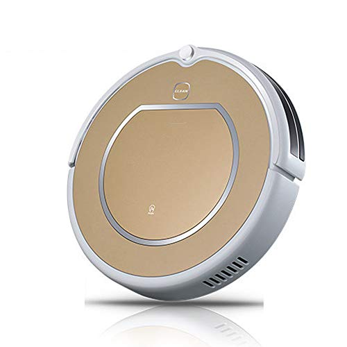 For Sale! Giow Remote Control Robotic Vacuum Cleaner, Home Smart Robot Aspirador Slim Design Swept-i...