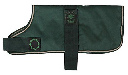 Outhwaite Hundemantel, gepolstert, 25cm, Grün