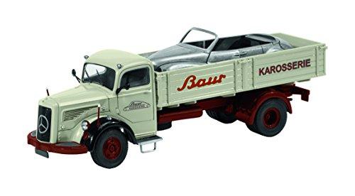 Schuco 450302500 - MB L6600 Baur Karosserie 1:43, grau