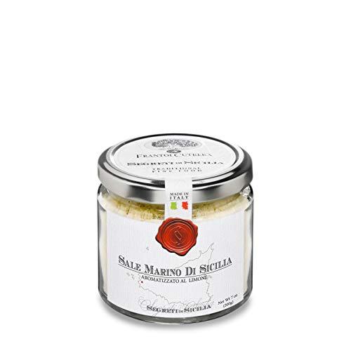Trapani Sea Salt flavoured with Lemon 200gr
