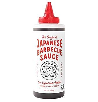Bachan s - The Original Japanese Barbecue Sauce 17 Ounces Small Batch Non GMO No Preservatives Vegan and BPA free