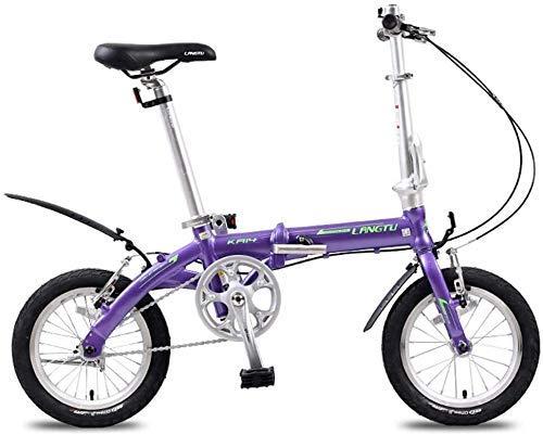 test AYHa Mini Faltrad, leichtes, tragbares 14-Zoll-Citybike aus Aluminiumlegierung, Super… Deutschland