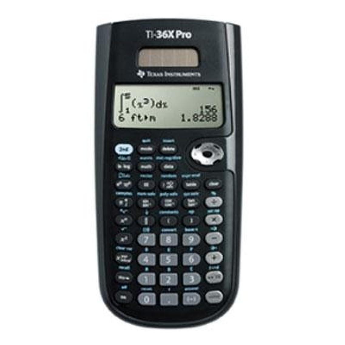 おもしろい祖父母を訪問杭Texas Instruments ti-36?X Pro Scientific Calculator、16桁LCD