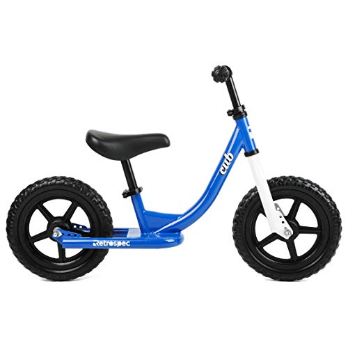 Retrospec Cub Kids Balance Bike No Pedal Bicycle , Royal Blue