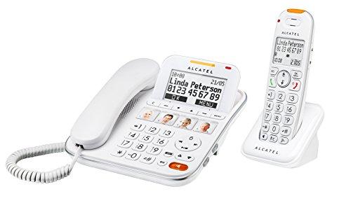 Alcatel Atlinks XL 650 Combo Répondeur Téléphone filaire Blanc