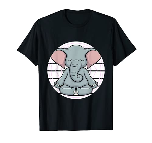 Méditation Yoga nidra Éléphant méditant le chakra zen T-Shirt