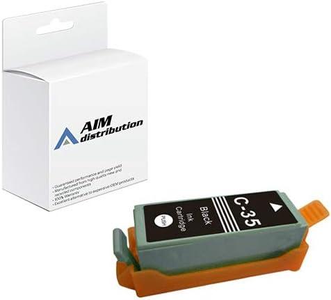 AIM Compatible Replacement for Canon PGI-35 Black Inkjet (1509B002) - Generic