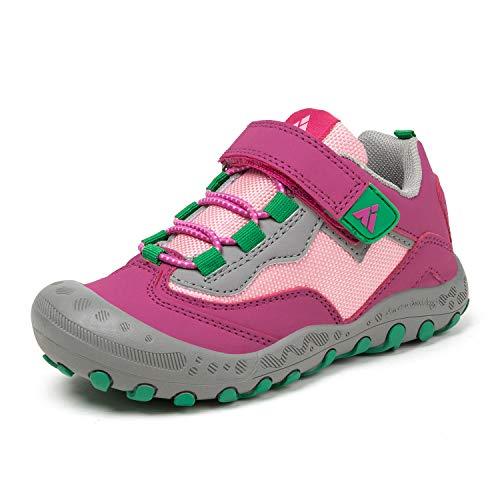 Mishansha Unisex Childrens Trekking /& Hiking Shoes Non-Slip Outdoor Leisure Shoes Size 26-38