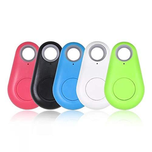 HUAYUAN Buscador de Llaves Inteligente Localizador de rastreador GPS Bluetooth Dispositivo Anti-perdida Etiqueta Colgante de Alarma para niños Bolsa de Cartera para Perros y Gatos 5PCS-5 Pieces_China