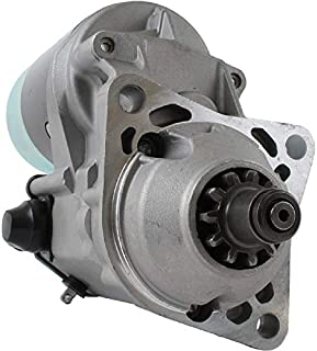 DB Electrical SND0405 Starter For Bobcat, Clark Kubota 753, 763, 773 Skid, 825 T190 /Clark 753 763 773