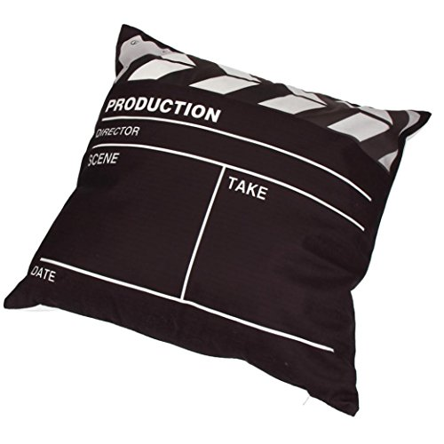 KMG Pillow Case, Kimloog Movie Theater Cinema Square Couches Chair Waist Zippered Throw Cushion Cover