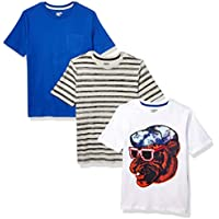 3-Pack Spotted Zebra Boys Short-Sleeve T-Shirts