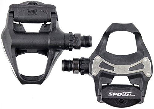 SHIMANO PD-R550 SPD-SL Road Pedals; Black