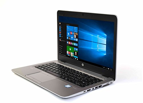 HP EliteBook 840 G3 Intel Core business laptop, 14.1 inch screen, fast, refurbished, 12 months warranty, Windows 10 Professional (Core i5, 16GB RAM, 500GB SSD)