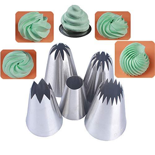 Bocchette decorative per pasticceria