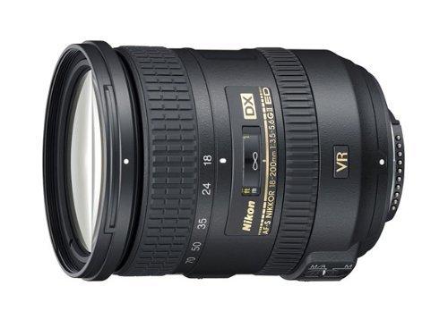 Nikon AF-S DX NIKKOR 18-200 mm f/3.5-5.6G ED VR Lens (Generalüberholt)