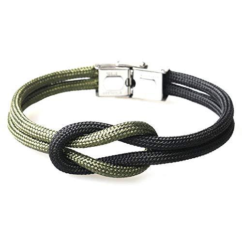 NKSS Mens Bracelets Fashion Multi-Layer Rope Men Anchor Bracelet For Women-2_20Cm