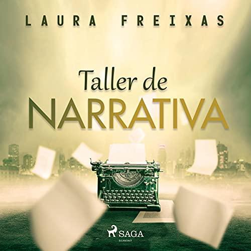 Diseño de la portada del título Taller de narrativa