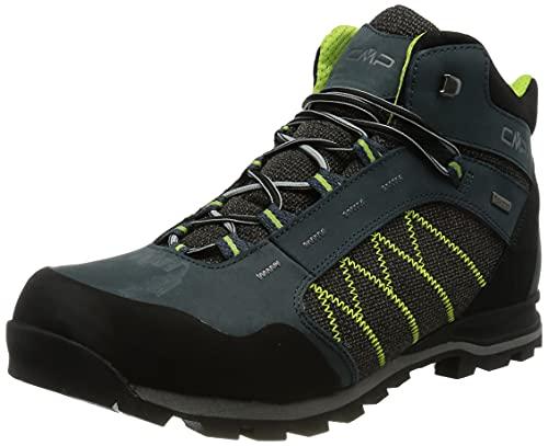 CMP Shoe, Scarpe da Trekking Thiamat Mid 2.0 WP Uomo, Antracite, 43 EU