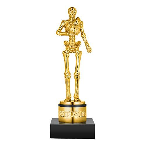 Toyvian Trofeo al Mejor Disfraz de Halloween Competencia de Juegos de Halloween Premios del Esqueleto