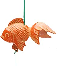 1pc Japanese Iron Orange Goldfish Wind Chime for Made in Japan #485-081