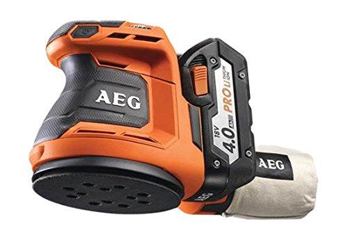 AEG Akku-Exzenterschleifer BEX 18-125/4 Ah, 1 Stück, 4935451087