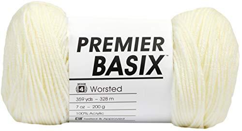Premier Yarns HILO BASIX CREMA, talla única