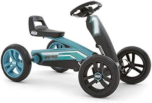 Kinder Kart Pedal fürrad Vierr rn Kart Kinderwagen Spielzeug Kinderwagen Racing Lenkrad Design Sitz 3 Verstellbarer, kraftvoller Hinterradantrieb (Farbe   Blau, Größe   83  49  5cm)
