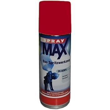 Spray Max 2k Decklack Hochglanz Ral 3020 400 Ml 6803020 Auto