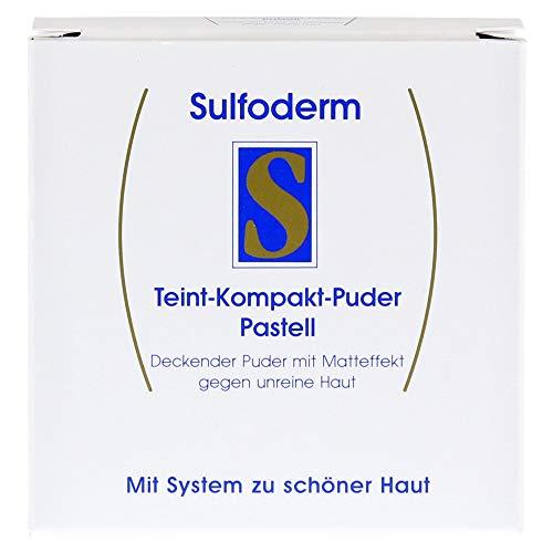 Sulfoderm S Teint-Kompakt-Puder pastell, 10 g Puder