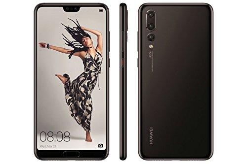 "Huawei P20 Pro - Smartphone DE 6.1"" (Octa-Core 4x2.36 GHz Cortex A73 Memoria Interna de 128 GB, 6 GB de RAM, cámara de 40 MP, Android) Negro"