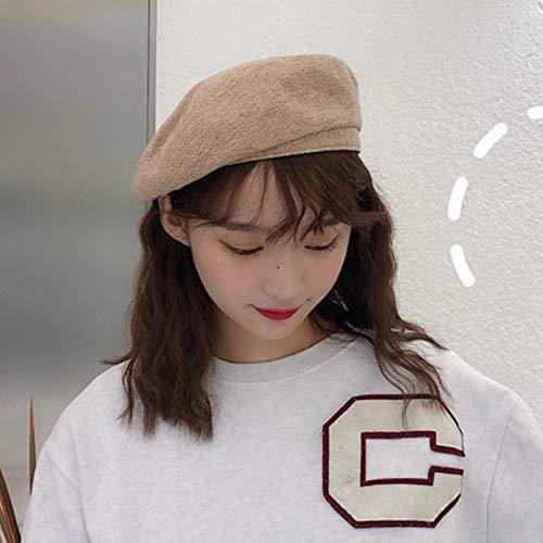 JXFM kleine pompoen hoed Japanse casual wilde straat herfst winter warme hoed