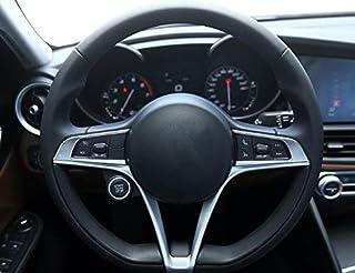 Nrpfell Per BMW X3 X4 X5 F15 F25 F26 2014-2016 ABS Copertura del Volante del Cromo Trim Adesivi Car Styling Accessorio