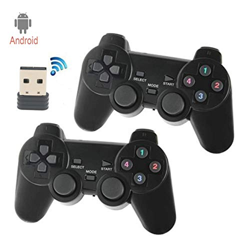 C-Zone 2.4GHz USB Twins Wireless game Controller Gamepad Joystick With WIN98/2000/X/2003VISTA/WIN7 SYSTEM TV Box