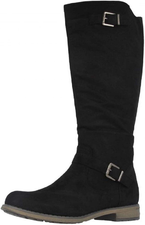Fitters Footwear That Fits Damen Hochschaft Stiefel Übergröße 42-45 42-45 42-45 gefüttert Vanessa große Größe  3ff2c2